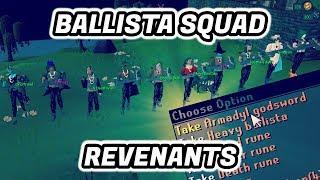 Ballista Squad Pking at Revenants (Multiple AGS Pks!)