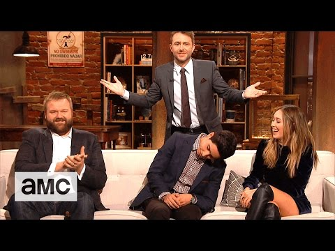 Talking Dead: 'Robert Kirkman, Lorenzo James Henrie and Alycia DebnamCarey'  Questions
