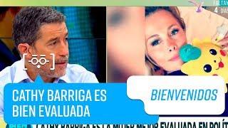 Cathy Barriga es la mujer mejor evaluada en la política l Bienvenidos