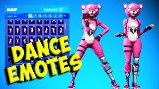 Fortnite CUDDLE TEAM LEADER Skin with 134 + Dances/Emotes