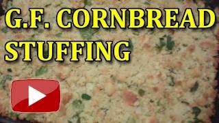 Gluten Free Cornbread Stuffing or Dressing