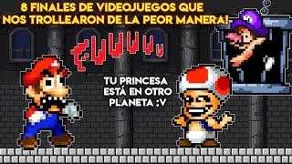 8 Finales de Videojuegos que TROLLEARON de la PEOR Manera - Pepe el Mago