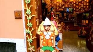 Pinocchio - I never lie Bartolucci toy shop in Rome