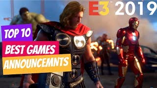 Top 10 Best Games Announced At E3 2019  Pc Ps4 Xbox One Google Stadia
