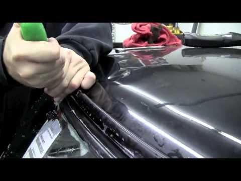 How To Install A Windscreen Windshield Classic Mini Youtube