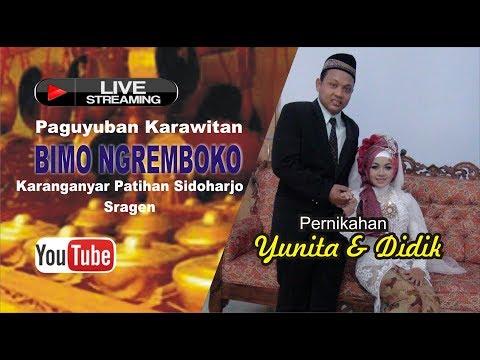 Live Streaming  Karawitan Bimo Ngremboko // KURNIA SOUND  // PSJ MANIA Live Sentono Tawangsari