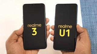 Realme 3 vs Realme U1 SpeedTest & Camera Comparison