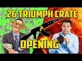26 TRIUMPH CRATE OPENING (PUBG)(Funny)