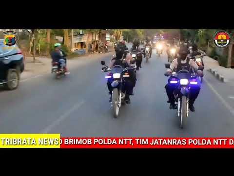 PATROLI GABUNGAN BKO BRIMOB POLDA NTT,TIM JATANRAS & ANGGOTA POLRES TTS AMANKAN PSU PILKADA KAB.TTS