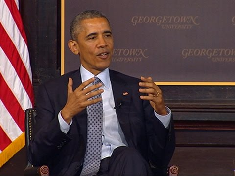 Obama Addresses Poverty in Washington Panel