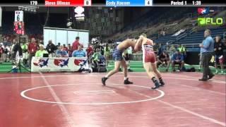 Junior 170 - Steve Ullman (Colorado) vs. Cody Hauser (Illinois)