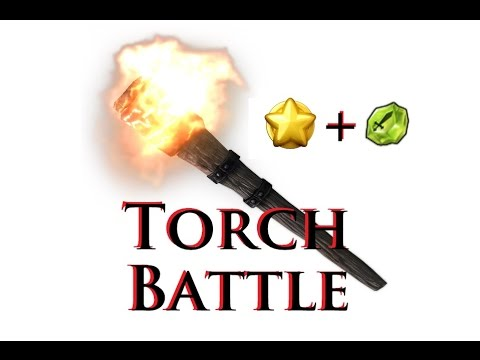 Castle Clash - New Guild's 1st Torch Battle - 1st Rank !