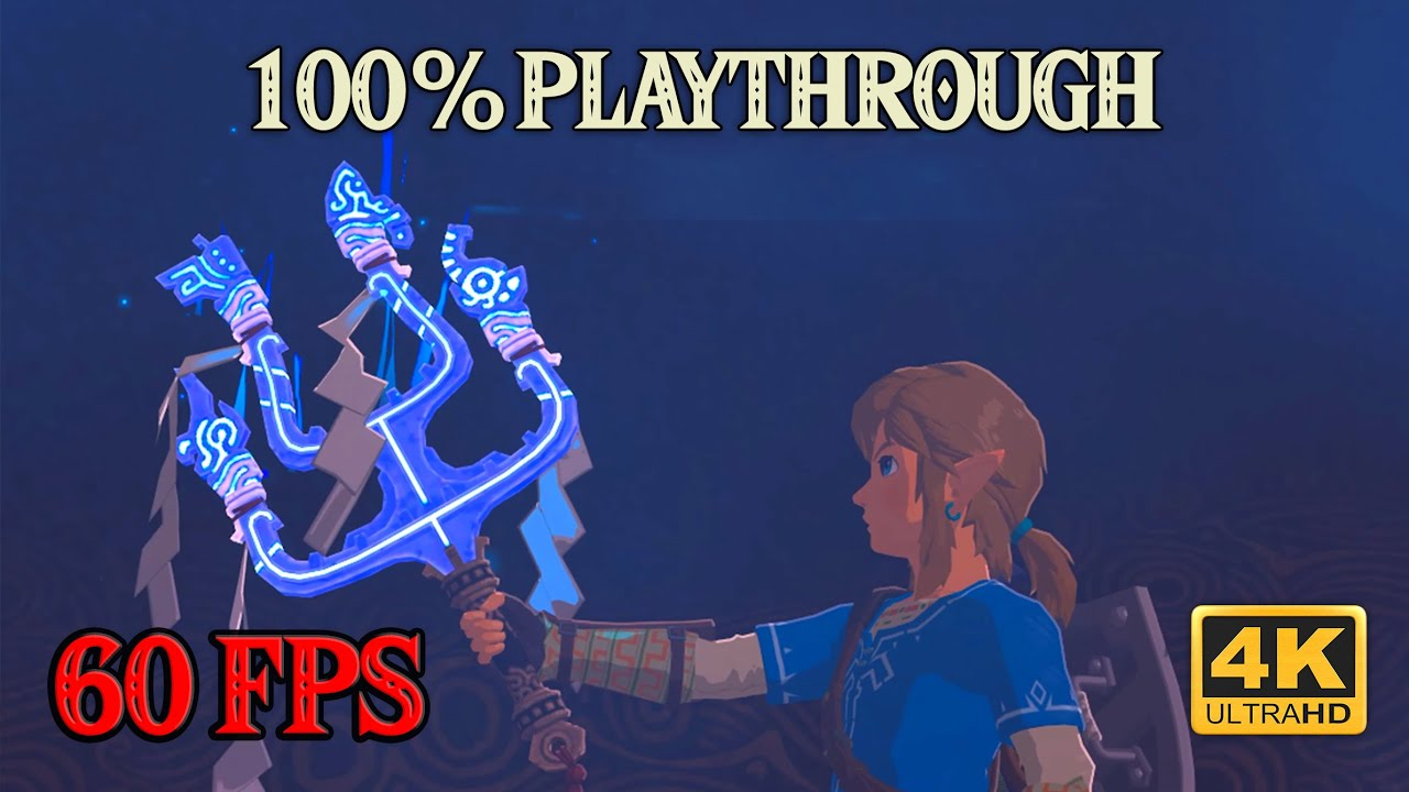Zelda Breath of the Wild - 100% Playthrough [4K 60FPS CEMU] Part 17 ~ The Champions' Ballad