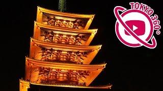 東京最古の寺「浅草寺」年間約3,000万人の参詣者が訪れる観光スポット(本堂・宝蔵門・五重塔)