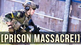 PRISON MASSACRE! | CQB KILLSTREAK!  | UK AIRSOFT