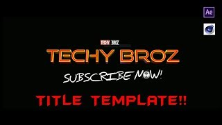 Spider Man Far From Home Title Template Teaser !!   Techy Broz