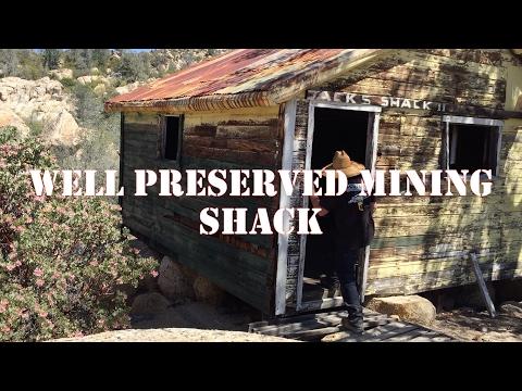 EXPLORING JACKS SHACK NEAR THE HEMET BELL GOLD MINE