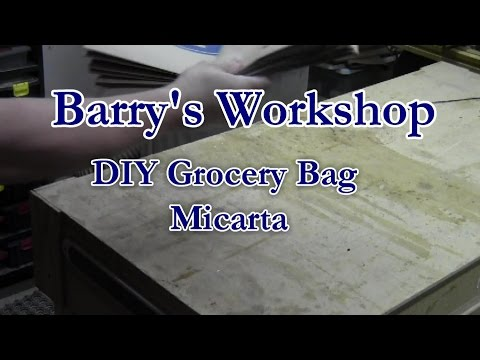 Brown Bag Micarta Knife Handles- Part 1 of 2