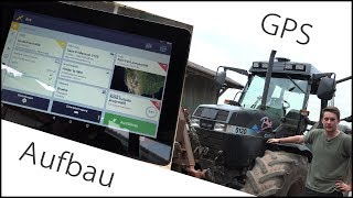 GPS System XCN1050 + NAV900 Montage am Maxxum inkl. Field IQ Section Control