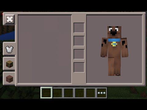 Minecraft PE - Scooby Doo Skin Costume - YouTube