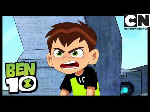 Ben 10 | Ben Fights Kevin Using Humungousaur | This One Goes to 11 | Cartoon Network