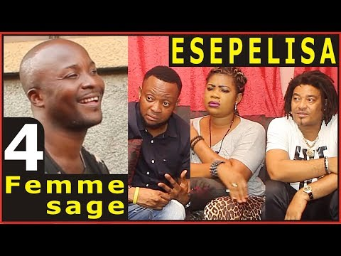 FEMME SAGE 4 Ebakata Darling Buyi-buyi Fanny Mayo Batista Moseka ESEPELISA THEATRE CONGOLAIS 2017