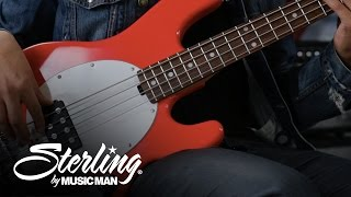 Sterling by Music Man | StingRay Bass Demo - Ray4