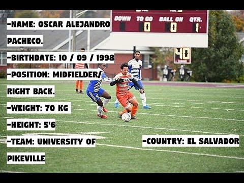 Oscar Pacheco Soccer Highlights Fall Season 2018