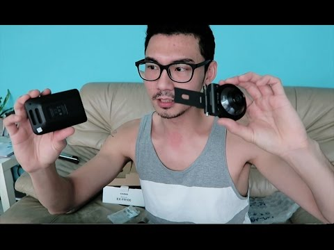 自拍神器-Casio EX-FR100相機小開箱-相機界的apple pen