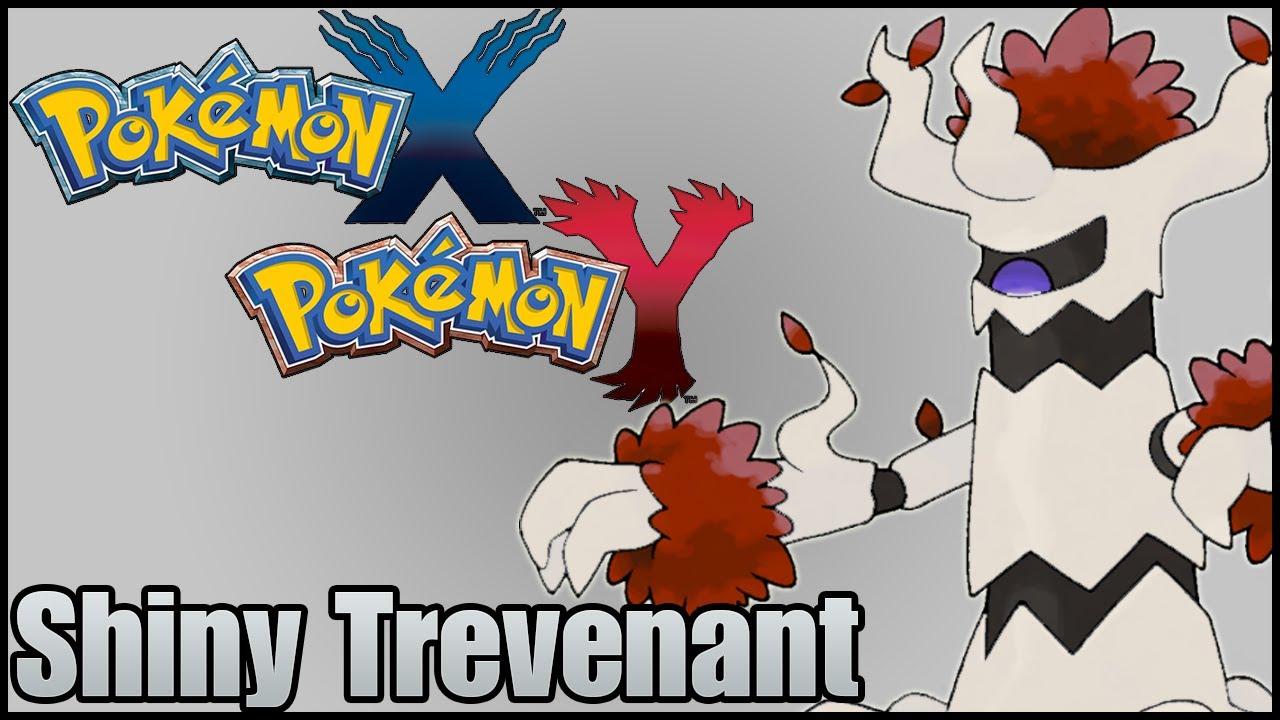 Pokemon X & Y - Shiny Trevenant in a Horde Battle - YouTube