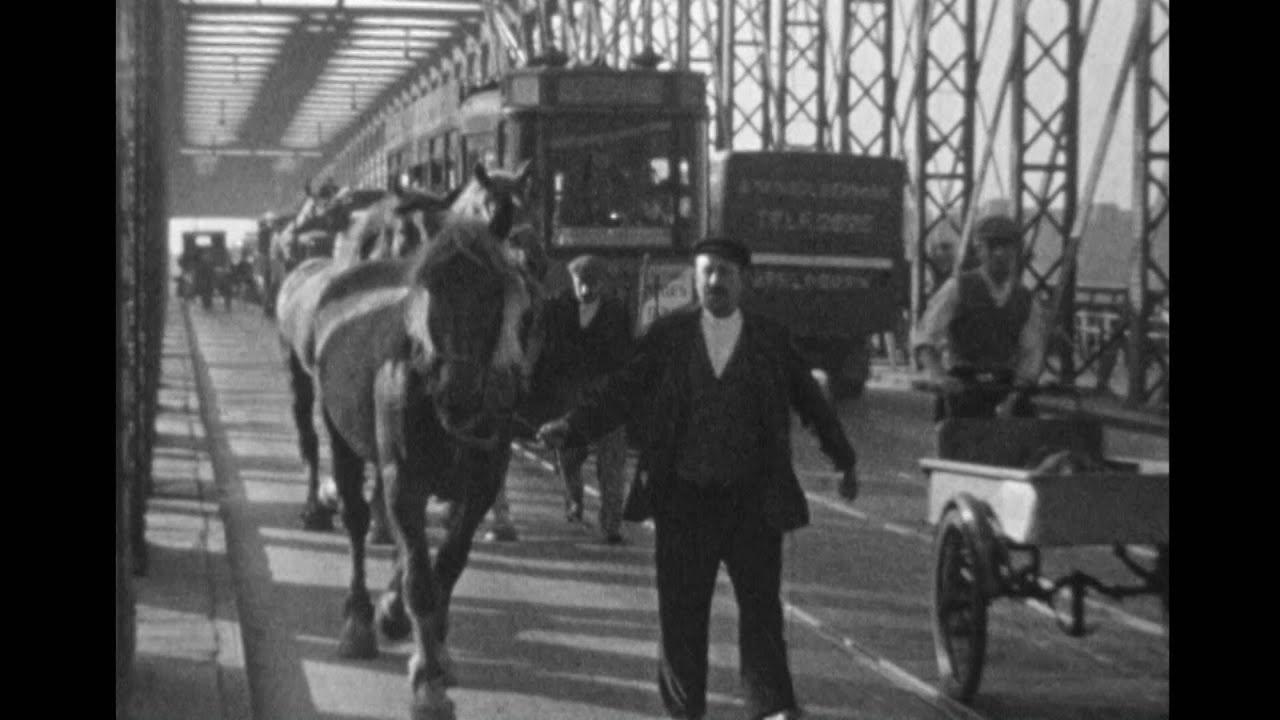 rotterdam centrum traffic 80 years ago 8mm film youtube