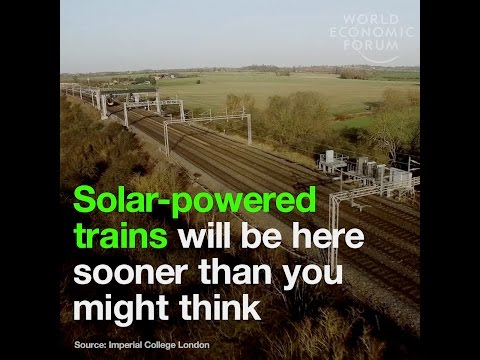 Solar powered trains will be here sooner you might think