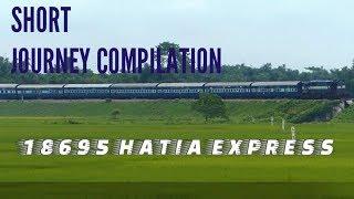 #WDM3D #DIESEL #MGS 18623 Hatia-islampur-New Delhi express short journey compliation