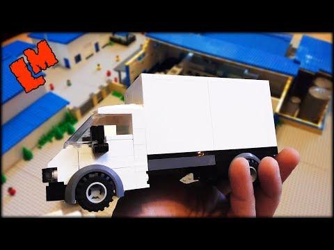 Макет из Лего (самоделка)