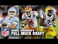 2017 Full NFL Mock Draft (Pick 1-32) | Daniel Jeremiah | NFL Total Access