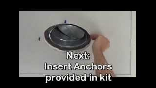 Magnetic Retrofit Diffuser Kit - Replaces Old, Unsightly Grilles