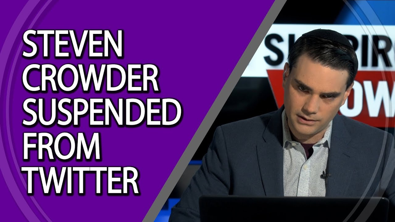 steven crowder suspended from twitter youtube