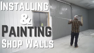 Dream Shop Build 3: Drywall, T1-11 Plywood Walls, And Painting
