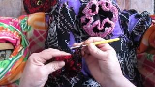 Вязание крючком: резинка для волос