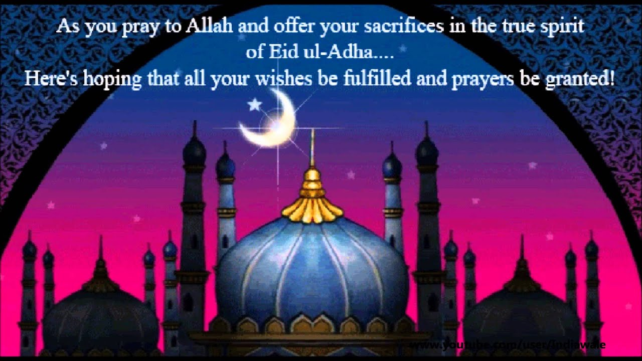 Happy Eid Al Adha 2015 Bakra Eid Wishes Sms Greetings Quotes