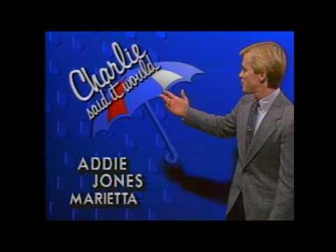 Mike Seidel WYFF-TV Greenville, SC Weather December, 1987