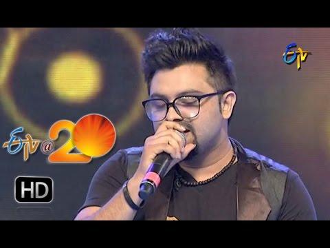 Yazin Performance - Meghaalu Lekunna Song in Nalgonda ETV @ 20 Celebrations