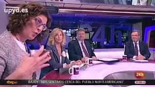 Maite Pagazaurtundúa analiza la actualidad en La Noche en 24 horas