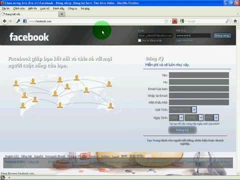 Cách thay hình nền cho Facebook