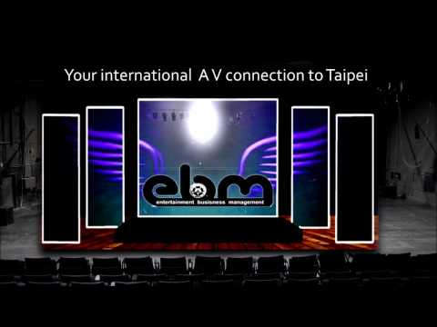 audio visual for Taipei conferences and events