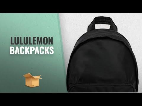 ae04bbeed25a Top 10 Lululemon Luggage   Travel Gear  2018   Lululemon Everywhere Backpack  (Black)