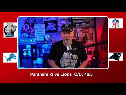 Carolina Panthers vs Detroit Lions 11/22/20 NFL Pick and Prediction Sunday Week 11 NFL