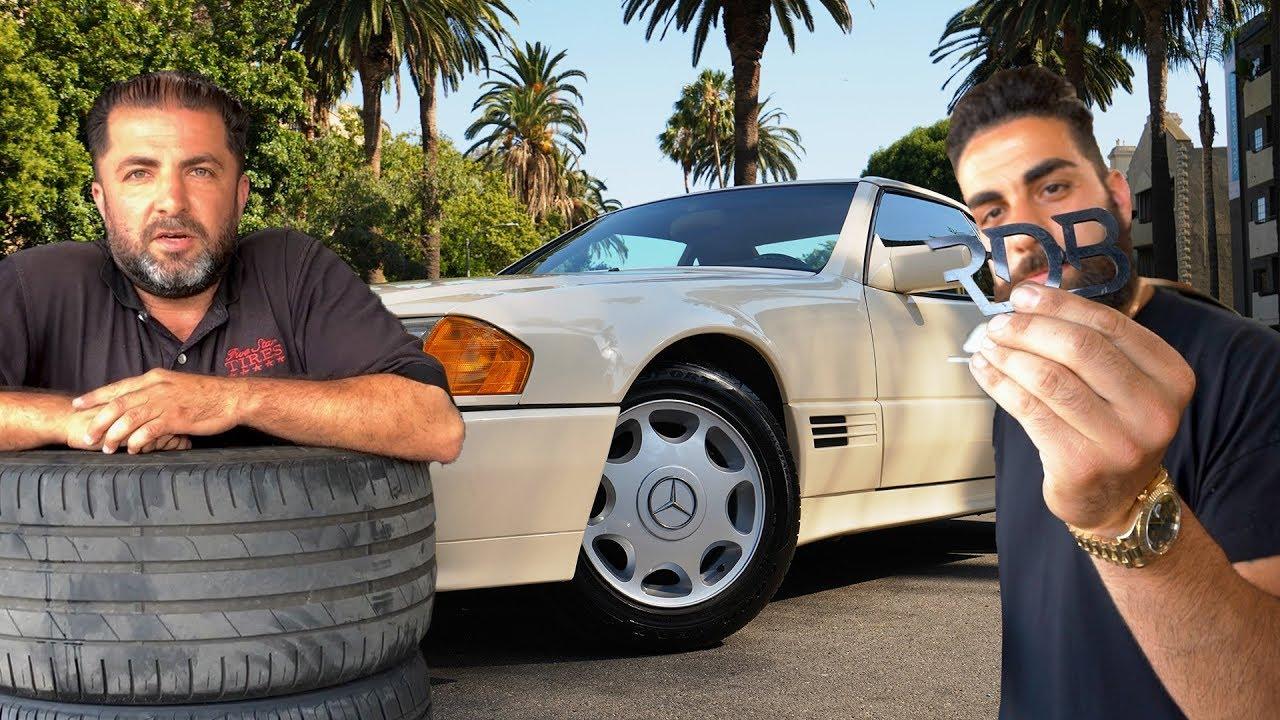 Rdbla Old Sl Benz Wrapped Mclaren 570 C Novitec Wing M6 Gold Dust More