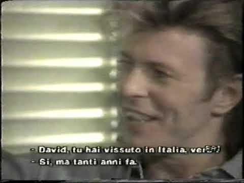 David Bowie - Ronnie Wood &  Bill Wyman (Rolling Stones) Interview - Backstage 1987 Footage