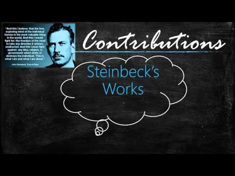 john steinbeck reflection in american literature essay Discussing flight by john steinbeck using the shared inquiry discussion method in a middle or high school classroom, ppt, 2013 comparison/contrast of part ii of the red pony by john steinbeck and the poem hurt hawks by robinson jeffers , red pony chart , rubric , 2011.